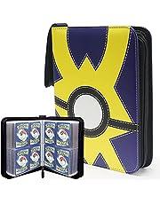 Pokemon Card Binder Compatible, Carrying Case Fit for Pokemon Binder Card Holder