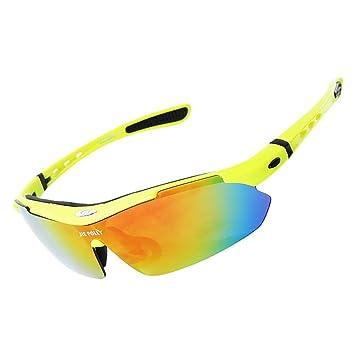 QXHMYJ Protección UV 400 Luz polarizada Gafas de Ciclismo Anti-Niebla Corriendo HD Protección para