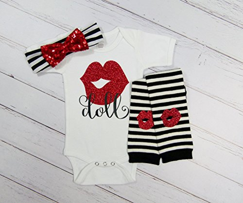Doll Baby Girl Outfit by Mama Bijou