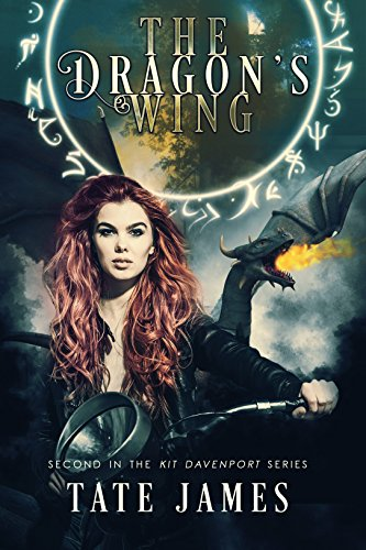 The Dragon's Wing (Kit Davenport Book 2) cover
