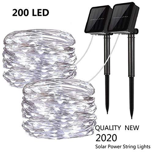 Led Solar Fairy Lights 200