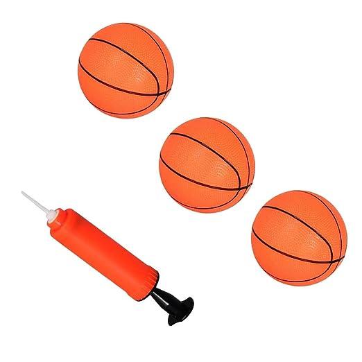 Toyvian 4pcs Mini aro Baloncesto de Baloncesto Inflable Tiro ...