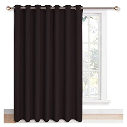 Amazon Nicetown Blackout Curtain For Sliding Glass Door
