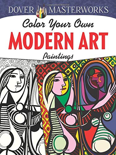 Dover Masterworks: Color Your Own Modern Art Paintings ()