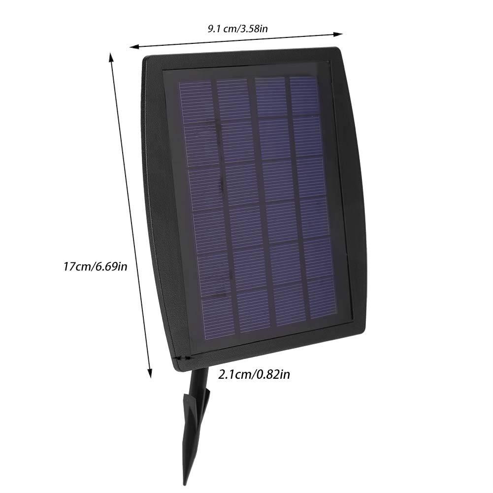Riuty Bomba de ox/ígeno Bomba de Aire accionada por energ/ía Solar Oxigenador para Acuario de estanques de Peces de Piscinas al Aire Libre