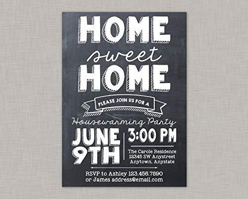 Housewarming Party Invitation Housewarming Invitation New Home Announcement BBQ Barbecue Backyard BBQ Backyard Barbecue
