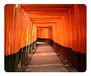 Mouse Pad Torii Leading To The Inner Shrine Desktop Laptop Mousepads Comfortable Office Mouse Pad Mat Cute Gaming Mouse Pad