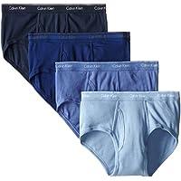 Calvin Klein Men's Underwear 4 Pack Cotton Classics Briefs