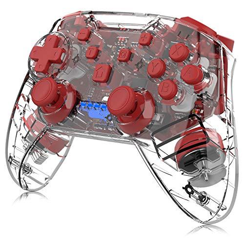 Wireless Controller for Nintendo Switch, Momen Switch Pro Controller Motion Remote Controller...