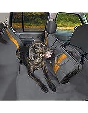 Kurgo Wander Dog Hammock Style Seat Cover for Pets, Pet Seat Cover, Dog Car Hammock - Water-Resistant, Gray