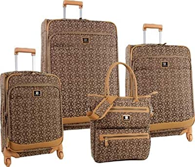 Anne Klein Kyoto 4 Piece Luggage Set