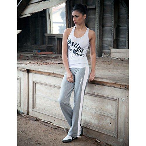 STILYA Lady Fitnesspant Pantalons de yoga aérobie Shorts sportifs *5508* gris melange