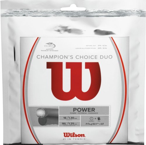 Wilson Champions Choice Duo Hybrid Tennis String