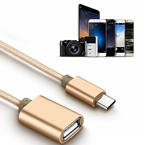 70%OFF LIYU Type-c to usb2.0 female adapter cable Adapter Charge and Sync Cable (OTG Host Cable) for Type-C Supported Devices for Samsung S8 Plus Google Pixel Nexus5X 6P Macbook,LG V20 5 6-2pack(6 Inch) Gold