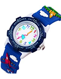 Kids Watch for Boys Girls by Vinmori, 3D Time Teacher...