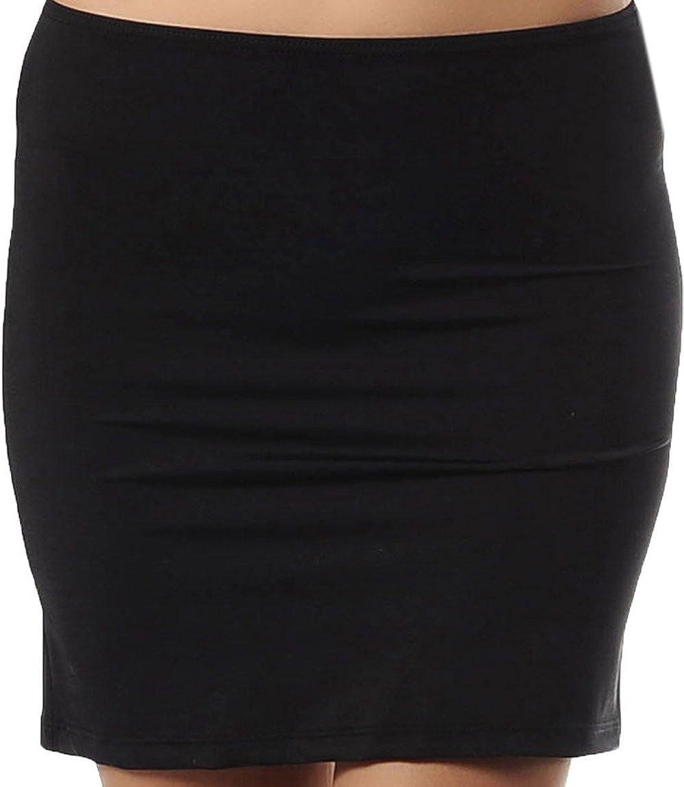 Doreanse Underwear Damen Unterrock Mini Underskirt Jupon Kurz Unterrock Frauen