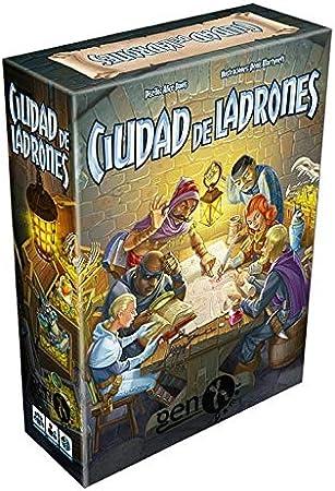 GENX Ciudad de Ladrones - Juego de Mesa [Castellano]: Amazon.es: Juguetes y juegos