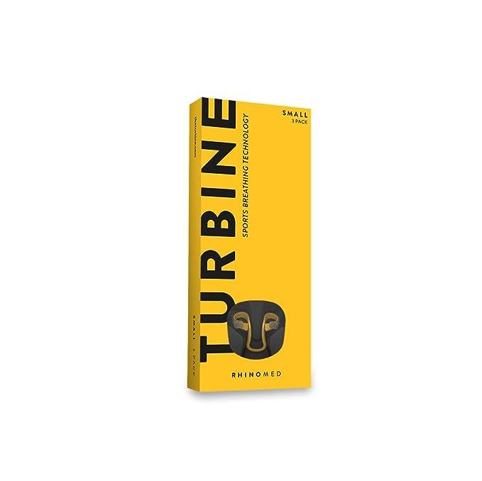 Rhinomed Turbine Nasal Dilator for Athletic Breathing, Small ...