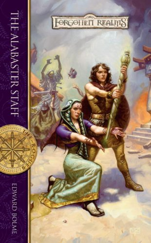 book cover of The Alabaster Staff