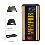 Best MVP CASE Case For Galaxy Note 4s - BleuReign(TM) Basketball Team Hashtag Memphis #Memphis Plastic Phone Review