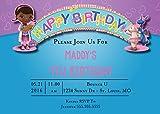 The Melange Market Custom Birthday Party Invitation - Doc McStuffin