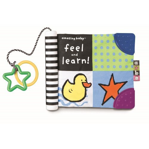 Kids Preferred Amazing Baby Feel and Learn Soft Book baby gift idea