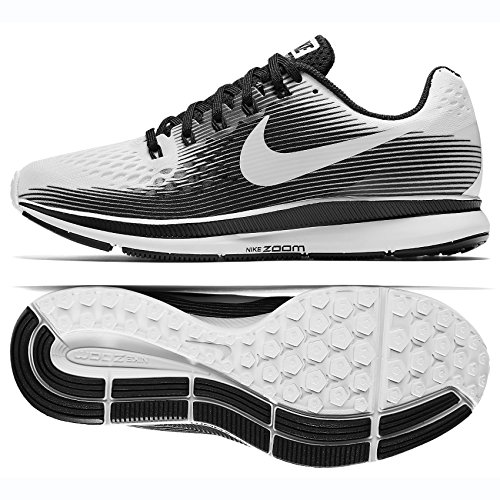 Uomo Nk M Black 1 White da 2 in Shorts Nike White Distance Flx Running 2in1 7in xUqxd7Aw
