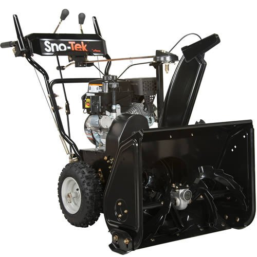 snow blower gas electric start - 2