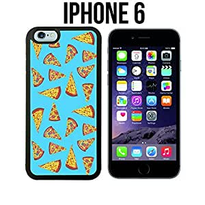 Yummy Cheeze Pizza Slices Custom made Case/Cover/Skin for iPhone 6 - Black