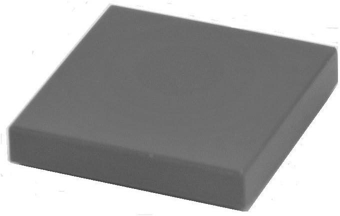 LEGO Parts and Pieces: Dark Gray (Dark Stone Grey) 2x2 Tile x100