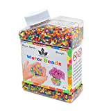 AINOLWAY Water Beads, 9OZ (Over 40,000pcs) Crystal Balls Growing Magically for Sensory Kids Games Playing