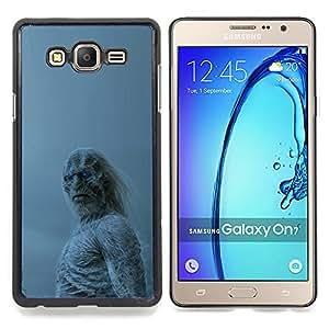 """Qstar Arte & diseño plástico duro Fundas Cover Cubre Hard Case Cover para Samsung Galaxy On7 O7 (Blanca Walker"""")"""