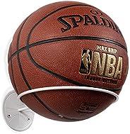 Wallniture Sporta Wall Mount Ball Storage, Ball Holder Organization and Storage Rack for Basketball, Football,