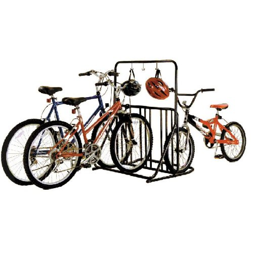 gearup 6-Bike Rack and Accessory Bar, Black by Gear Up