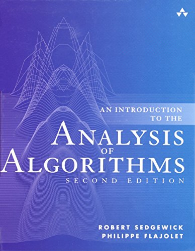 An Introduction to the Analysis of Algorithms (2nd Edition) by Addison-Wesley Professional