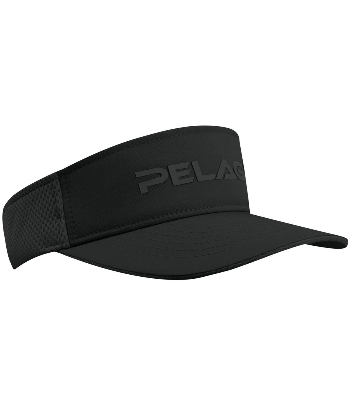 PELAGIC Flexfit Pro Fishing Visor Black by PELAGIC
