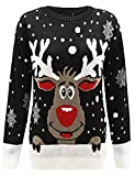 Product review for Zoomex_XMAS_JUMPER Kids Xmas Rudolph Jumper Childer Christmas Knitted Pullover Sweater