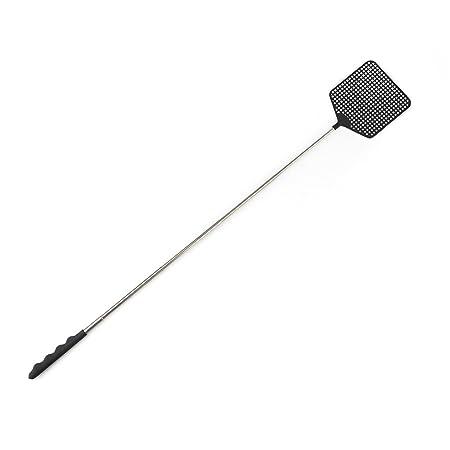 Balvi Fly swatter Zooom Black colour Extendible up to 73,5cm PVC plastic