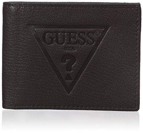 Guess Mens Logo Passcase Wallet