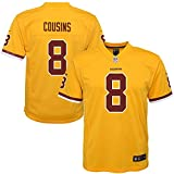 Youth Medium (10-12) Kirk Cousins Washington Redskins Color Rush Nike Game Jersey - Gold
