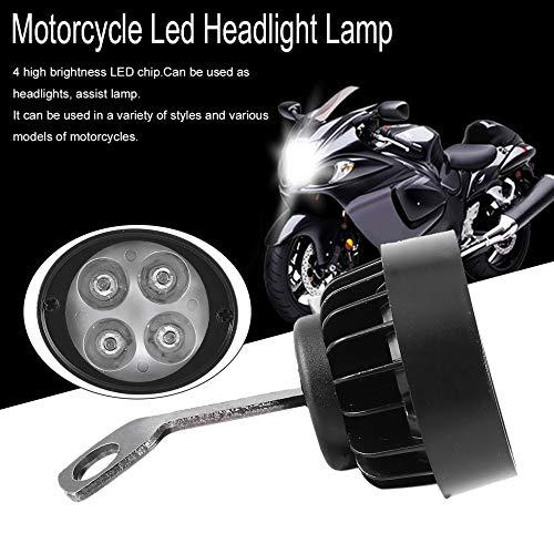 Super Clear 1000Lm Motorrad Led Scheinwerfer Lampe Roller Lokomotive Nebelscheinwerfer Super Light Assist R/ückspiegel Licht