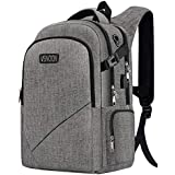 Business Laptop Backpack,VSNOON Anti-Theft Travel Laptop Backpacks for Women Men with USB Charging Port&Headphone Interface , Large Compartment College School Bag Fits 17 Inch Laptop&Notebook