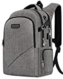 Business Laptop Backpack, Anti-Theft Travel Laptop Backpacks for Women Men with USB Charging