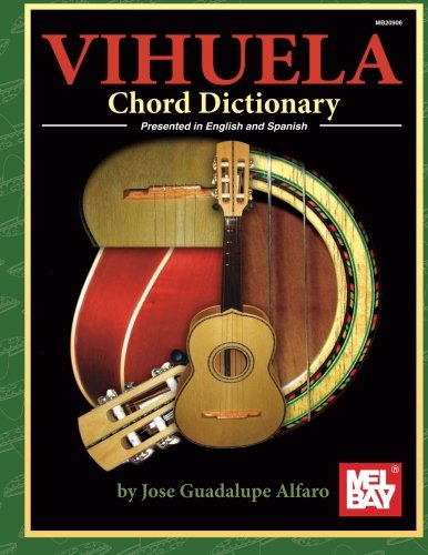 Vihuela Chord Dictionary Presented in English and Spanish (English and Spanish Edition)