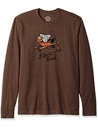 Men's Crusher Long Sleeve Fall Guy Htrcbr T-Shirt,