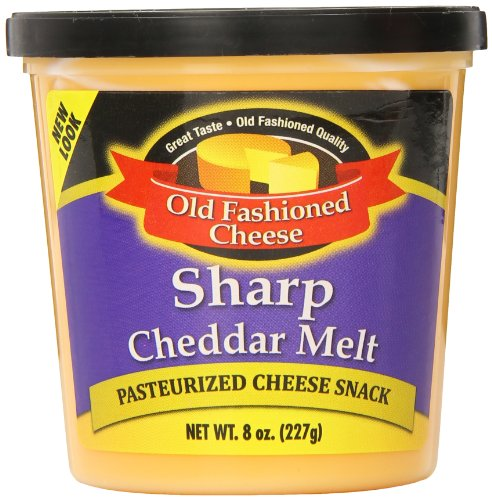 Old Fashioned Cheese Cheddar Melt, 8 Ounce (Pack of 12) by Old Fashioned Cheese