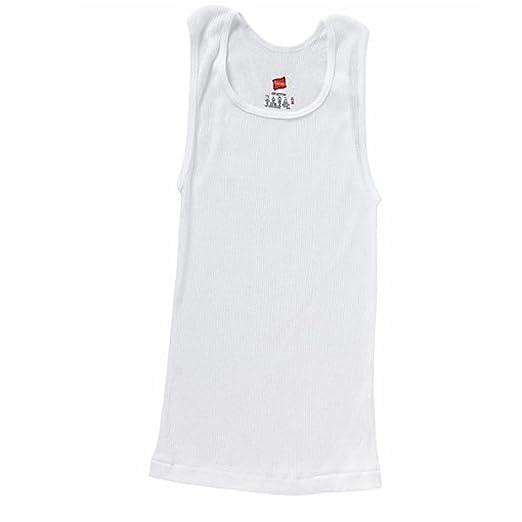 ab843c0bc0d02 Amazon.com  Hanes Boy s Tagless ComfortSoft Cotton A-Shirt 3-Pack  Clothing
