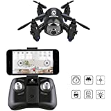 Holy Stone HS180 RC Mini Nano Drone with HD Camera WiFi FPV Live Video Quadcopter One Key Return Headless Mode 2.4GHz 6 Axis Gyro Helicopter