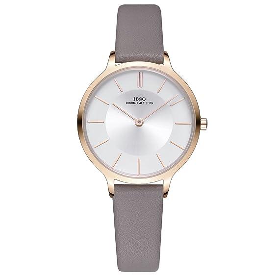 31ad24aa4 Women Watches Leather Strap Round Case Analog Fashion Ladies Watch on Sale  Mesh Bracelet Watch (