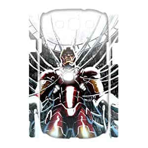 C-EUR Iron Man Customized Hard 3D Case For Samsung Galaxy S3 I9300